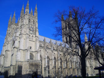 View of Canterbury Cathedral, a recommended destination on a tailor-made group tour of the UK