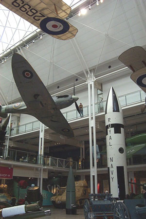 Inside the Imperial War Museum London
